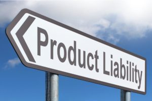 Product liability street sign