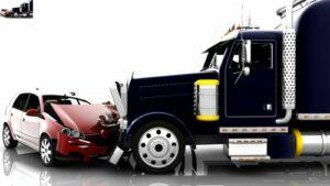 ¿Cómo se determina la culpa en un accidente de camión?